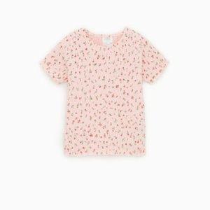 Girls Smocked Top from Zara